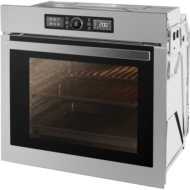 Whirlpool Absolute AKZ96220IX Built In Electric Single Oven - Stainless Steel - AKZ96220IX_SS - 2