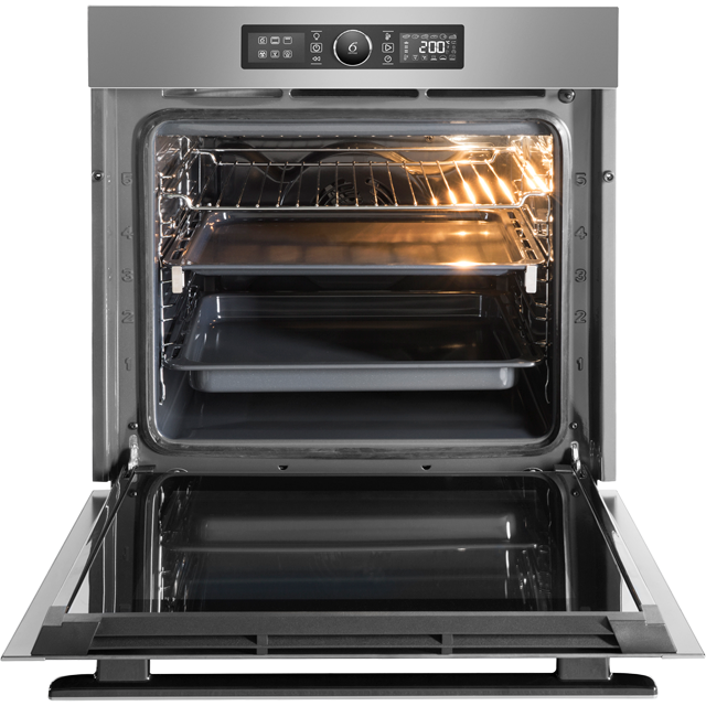 Whirlpool Absolute AKZ96220IX Built In Electric Single Oven - Stainless Steel - AKZ96220IX_SS - 3