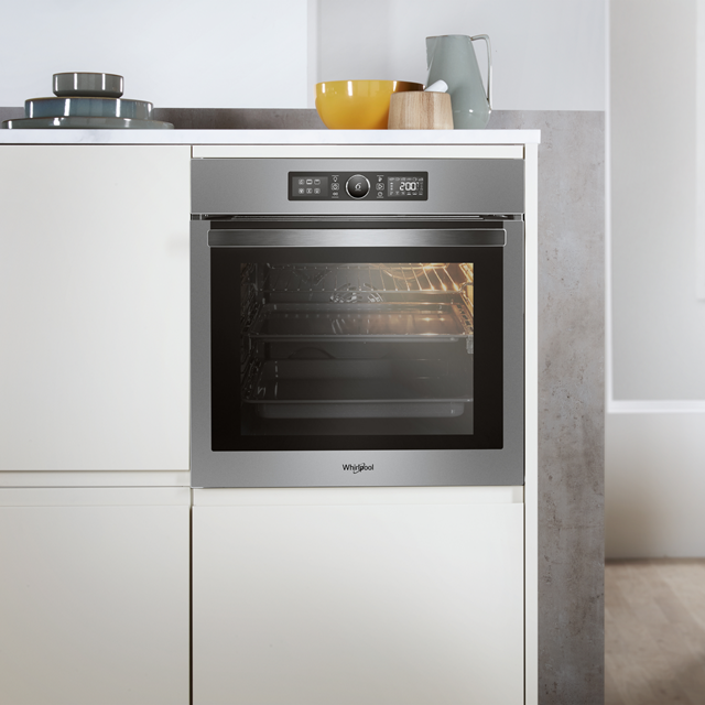 Whirlpool Absolute AKZ96220IX Built In Electric Single Oven - Stainless Steel - AKZ96220IX_SS - 4