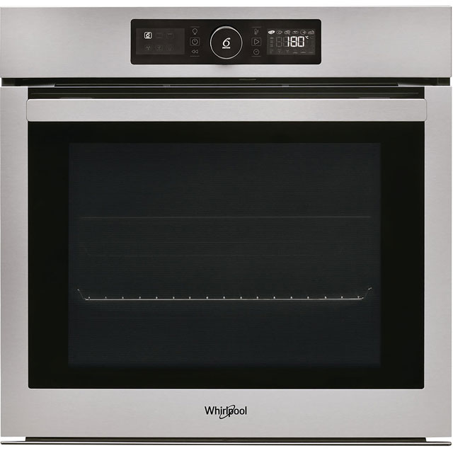 Whirlpool Absolute AKZ96230IX Built In Electric Single Oven - Stainless Steel - A+ Rated - AKZ96230IX_SS - 1