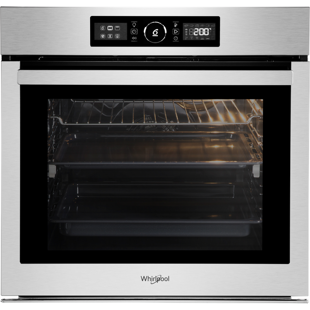 Whirlpool Absolute AKZ96270IX Built In Electric Single Oven - Stainless Steel - AKZ96270IX_SS - 1