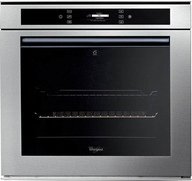 Whirlpool AKZM694/IXL Built In Electric Single Oven - Stainless Steel - A+ Rated - AKZM694/IXL_SS - 1