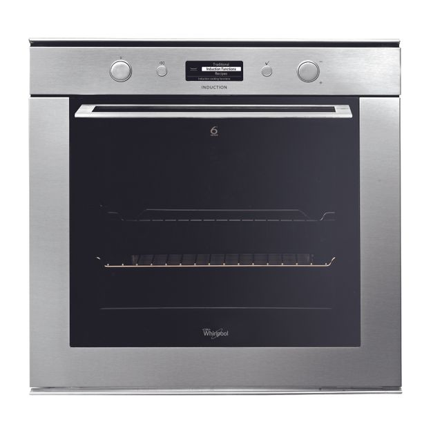 Whirlpool AKZM8790/IXL Built In Electric Single Oven - Stainless Steel Effect - AKZM8790/IXL_IX - 1