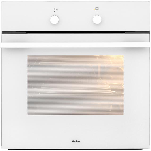 Amica 1059.3w Built In Electric Single Oven - White - A Rated - 1059.3w_WH - 1