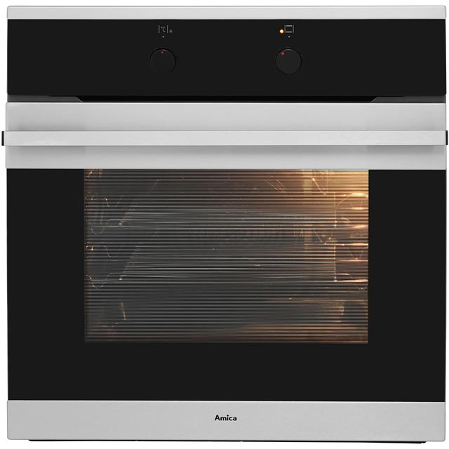 Amica 1059.3x Built In Electric Single Oven - Stainless Steel - A Rated