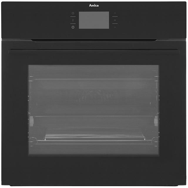 Image of Amica 1143.3TfB Integrated Single Oven in Black