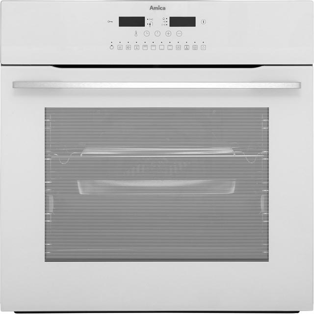 Amica 11433ThW Built In Electric Single Oven - White - A Rated