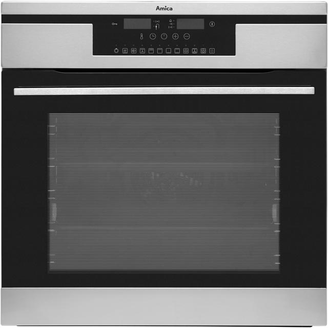 Amica 11433ThX Built In Electric Single Oven - Stainless Steel - A Rated