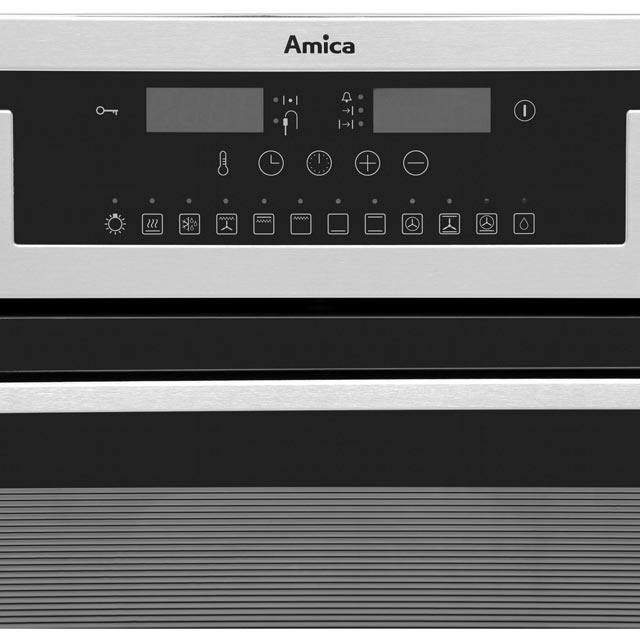 Amica 11433ThX Built In Electric Single Oven - Stainless Steel - 11433ThX_SS - 2