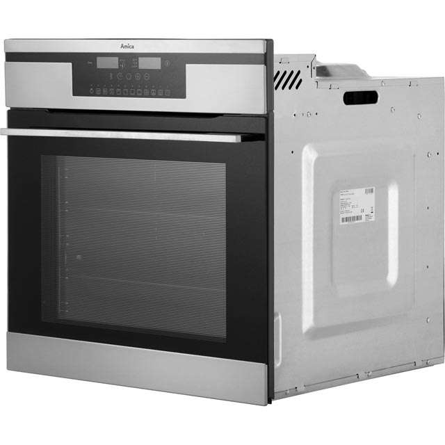 Amica 11433ThX Built In Electric Single Oven - Stainless Steel - 11433ThX_SS - 3