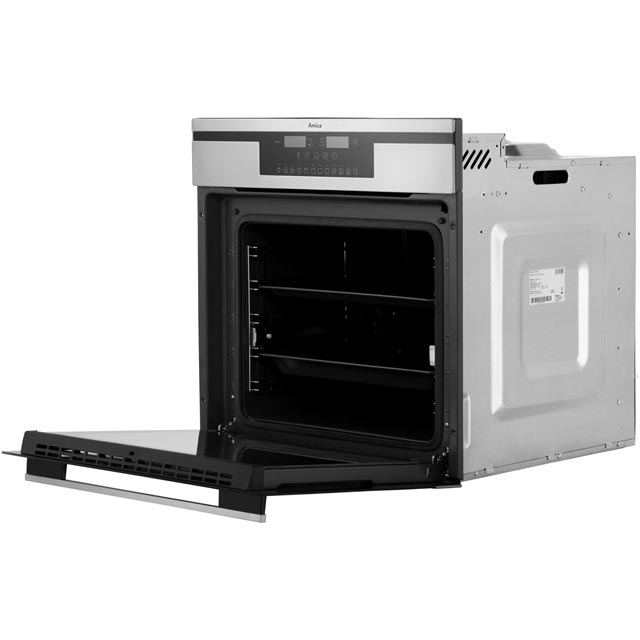 Amica 11433ThX Built In Electric Single Oven - Stainless Steel - 11433ThX_SS - 4