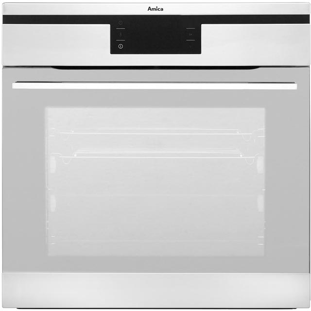 Amica 1143.4TfX Built In Electric Single Oven - Stainless Steel - A Rated - 1143.4TfX_SS - 1
