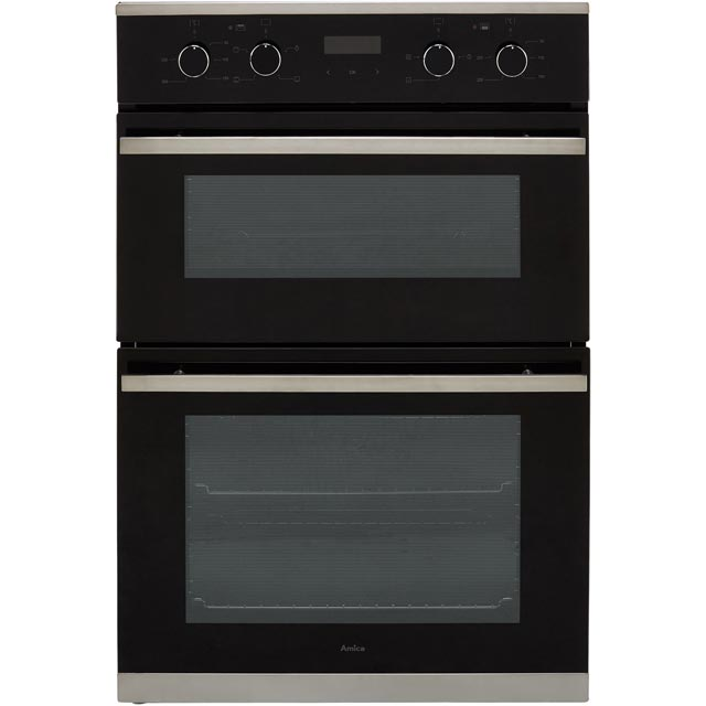 Image of Amica ADC900SS Built In Electric Double Oven - Stainless Steel - A/A Rated