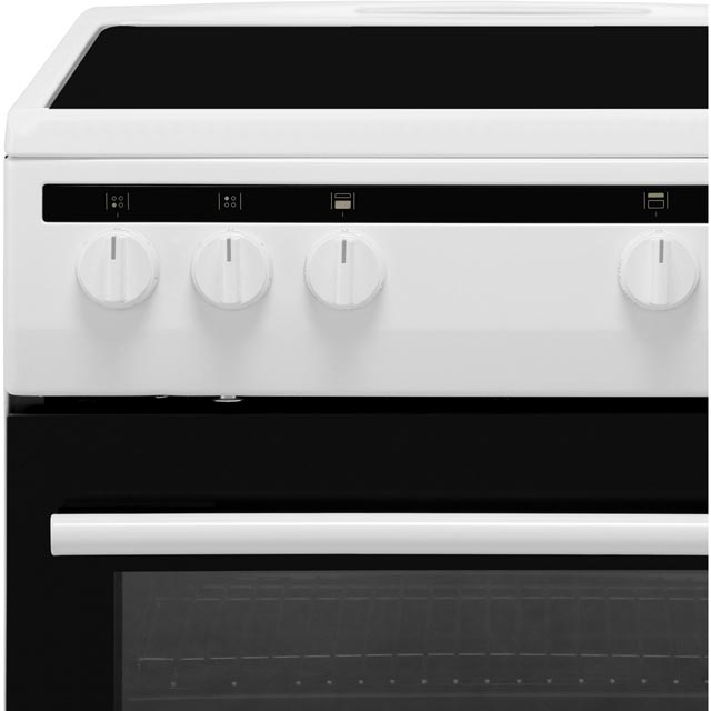 Amica AFC5100WH Electric Cooker - White - AFC5100WH_WH - 2