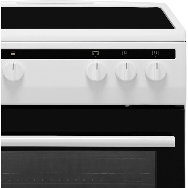 Amica AFC5100WH Electric Cooker - White - AFC5100WH_WH - 3