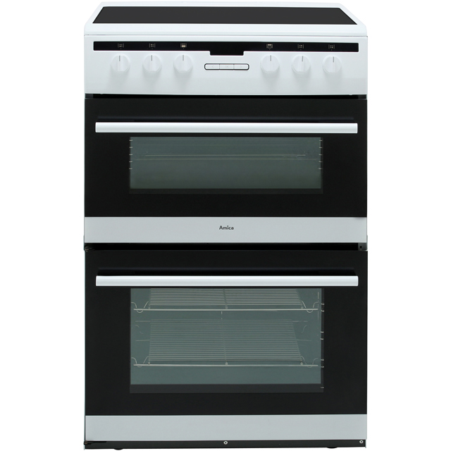 Amica AFC6550WH Electric Cooker - White - AFC6550WH_WH - 1