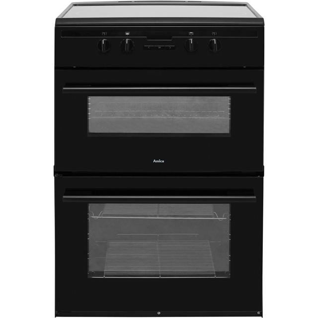 Amica AFN6550MB Electric Cooker - Matt Black - AFN6550MB_MB - 1