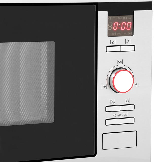 Amica AMM25BI Built In Microwave - Stainless Steel - AMM25BI_SS - 4