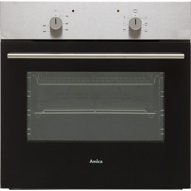 Amica ASC150SS Built In Electric Single Oven - Stainless Steel - A Rated