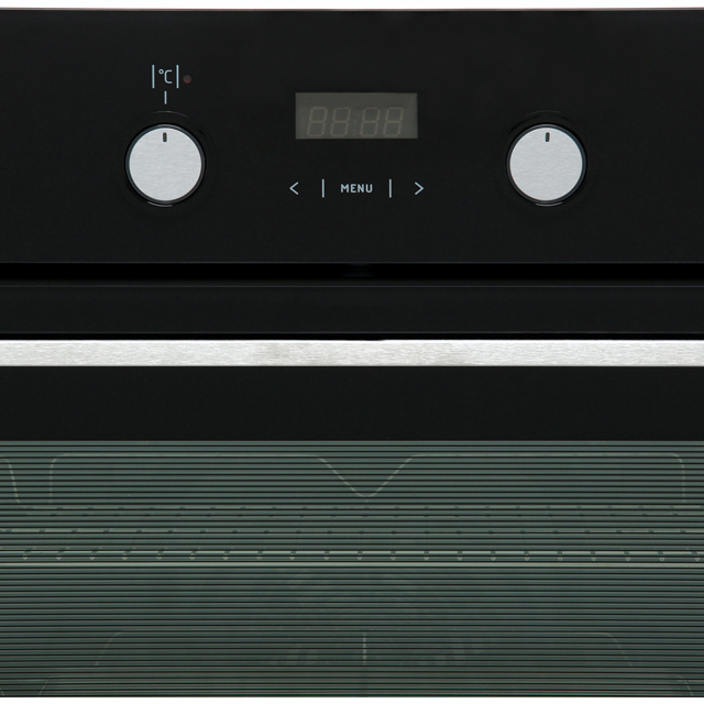 Amica ASC420BL Built In Electric Single Oven - Black - ASC420BL_BK - 2