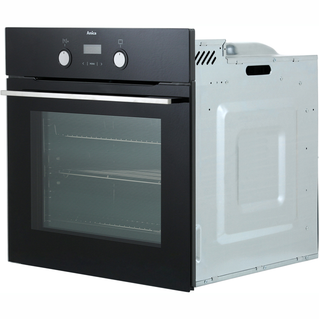 Amica ASC420BL Built In Electric Single Oven - Black - ASC420BL_BK - 3