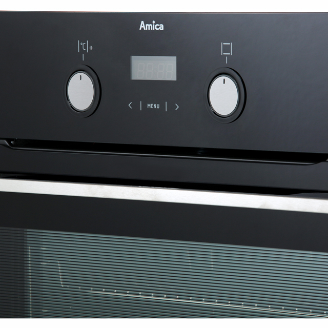 Amica ASC420BL Built In Electric Single Oven - Black - ASC420BL_BK - 5