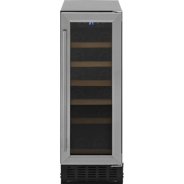 Amica AWC300SS Wine Cooler - Stainless Steel - A Rated