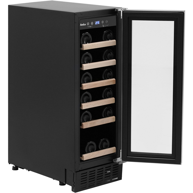 Amica AWC300SS Wine Cooler - Stainless Steel - AWC300SS_SS - 3
