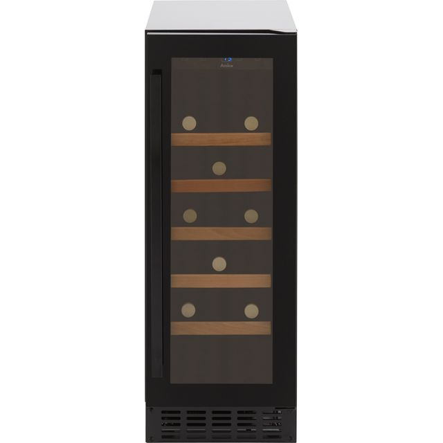 Amica AWC301BL Wine Cooler - Black - G Rated