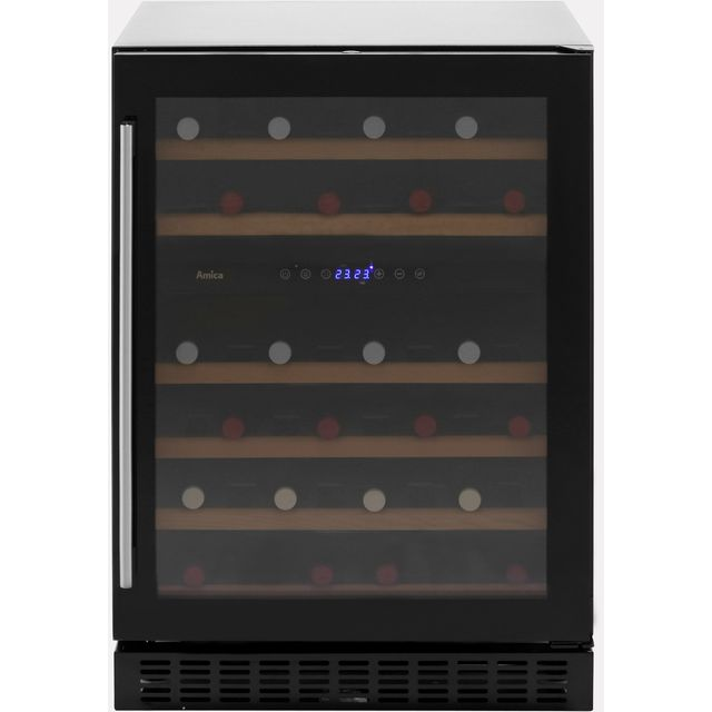 Amica AWC600BL Wine Cooler - Black - B Rated