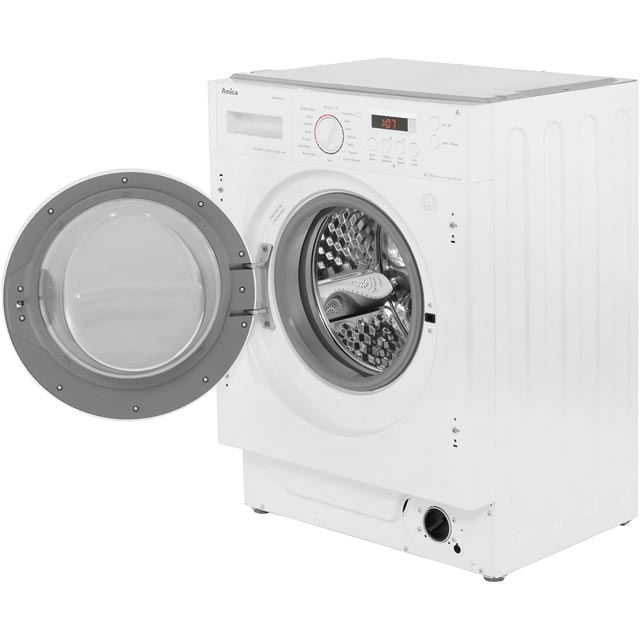 Amica AWDT814S Built In 8Kg / 6Kg Washer Dryer - White - AWDT814S_WH - 2