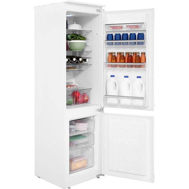 Amica BK316.3 Integrated 70/30 Fridge Freezer with Sliding Door Fixing Kit - White - A+ Rated Best Price, Cheapest Prices