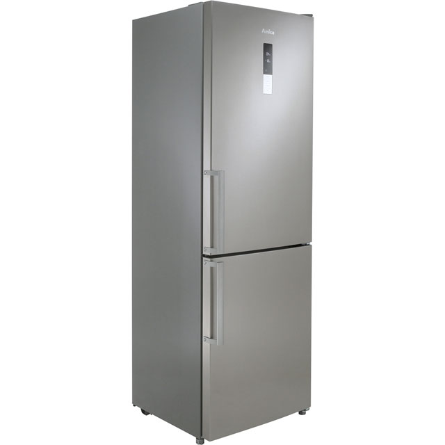 Amica FK3213DFX 70/30 Frost Free Fridge Freezer - Stainless Steel - A+ Rated - FK3213DFX_SS - 1