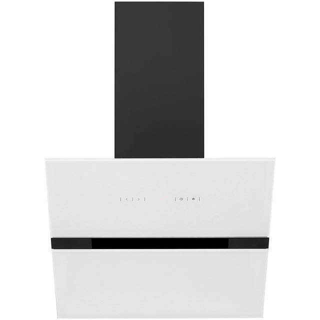 Amica 60 cm Chimney Cooker Hood - White - E Rated