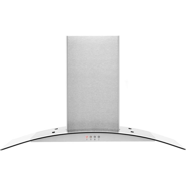 Amica OKP9321G Built In Chimney Cooker Hood - Stainless Steel - OKP9321G_SS - 1