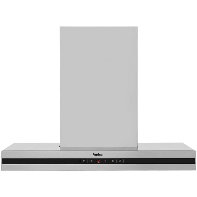 Amica OKS652TUK Built In Chimney Cooker Hood - Stainless Steel - OKS652TUK_SS - 1