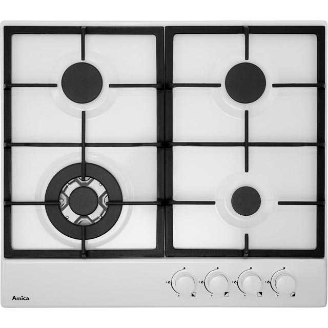 Amica Integrated Gas Hob in White