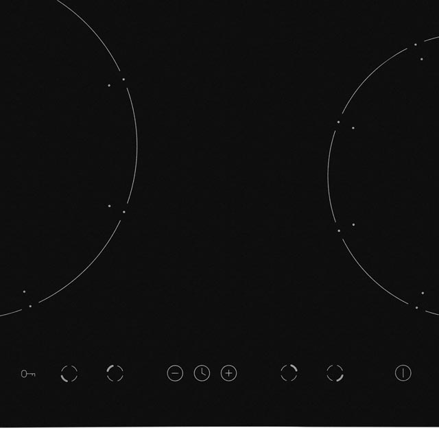 Amica PI6540TU Built In Induction Hob - Black - PI6540TU_BK - 2
