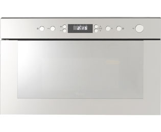 Whirlpool AMW498/IX Built In Microwave With Grill - Stainless Steel - AMW498/IX_SS - 1