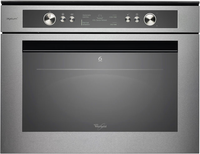 Whirlpool AMW834/IXL Built In Microwave With Grill - Stainless Steel - AMW834/IXL_SS - 1