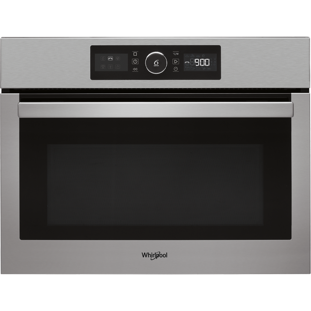 Whirlpool Absolute AMW9615/IXUK Built In Combination Microwave Oven - Stainless Steel - AMW9615/IXUK_SS - 1