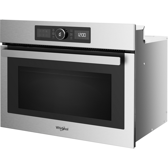 Whirlpool Absolute AMW9615/IXUK Built In Combination Microwave Oven - Stainless Steel - AMW9615/IXUK_SS - 2