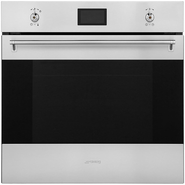 Smeg Classic AOSF6390G2 Built In Single Ovens & Gas Hobs - Stainless Steel - AOSF6390G2_SS - 2