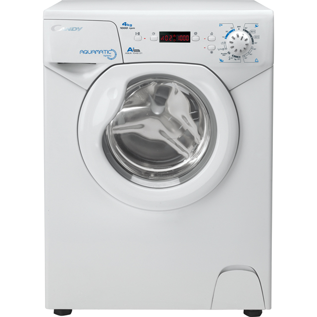 Candy Aquamatic AQUA1042D1 4Kg Washing Machine with 1000 rpm - White - A+ Rated - AQUA1042D1_WH - 1