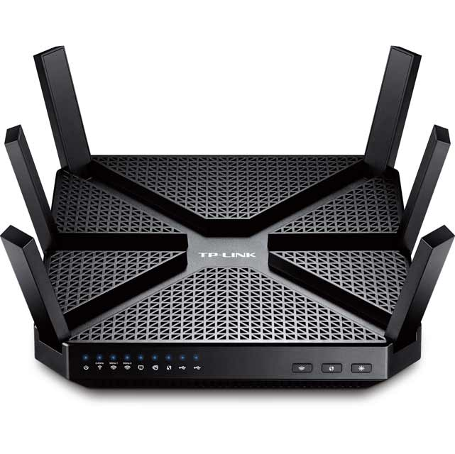 TP Link Archer C3200 Tri Band Wireless Router