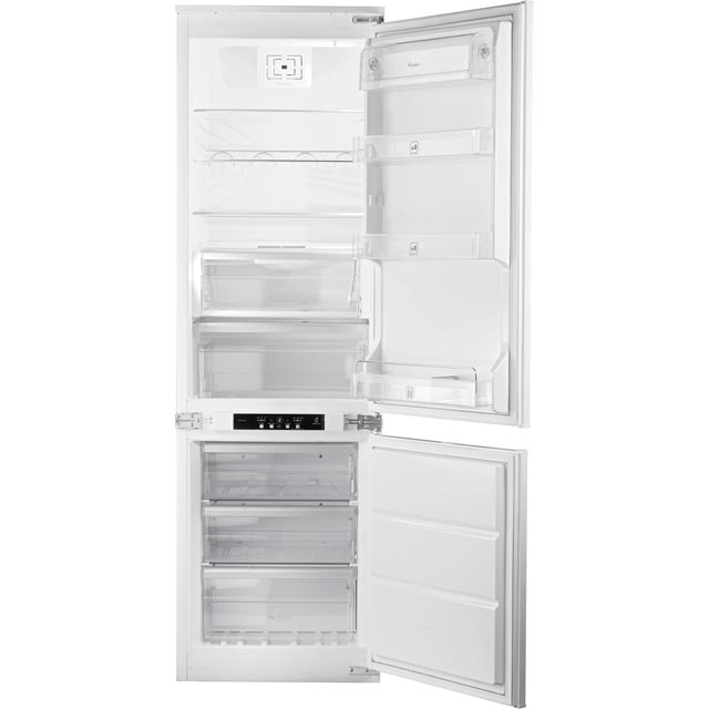 Whirlpool ART195/63A+/NF.1 Integrated 70/30 Frost Free Fridge Freezer with Sliding Door Fixing Kit - White - A+ Rated - ART195/63A+/NF.1_WH - 1
