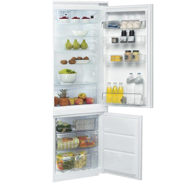 Whirlpool ART201/63A+/NF.1 Integrated 70/30 Frost Free Fridge Freezer with Sliding Door Fixing Kit - White - A+ Rated - ART201/63A+/NF.1_WH - 1