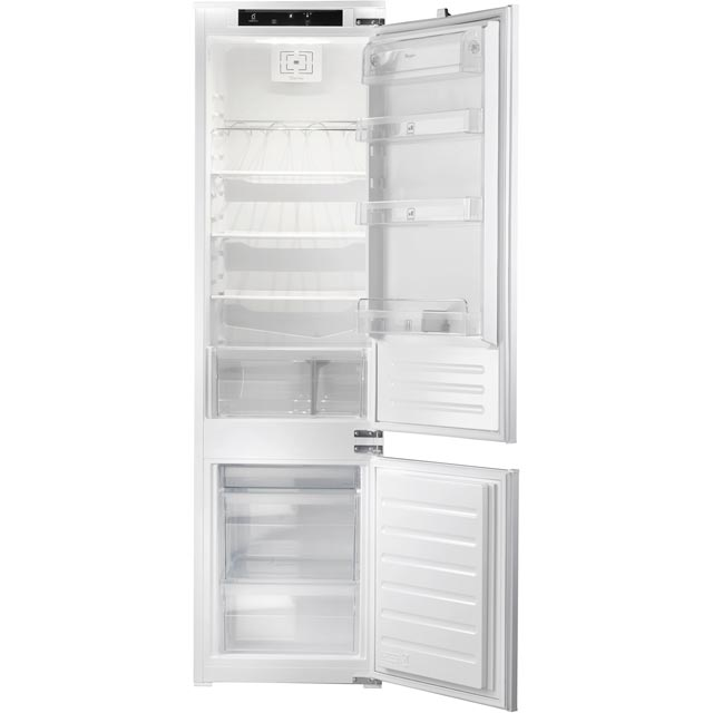 Whirlpool Integrated 70/30 Fridge Freezer with Sliding Door Fixing Kit - White - A+ Rated