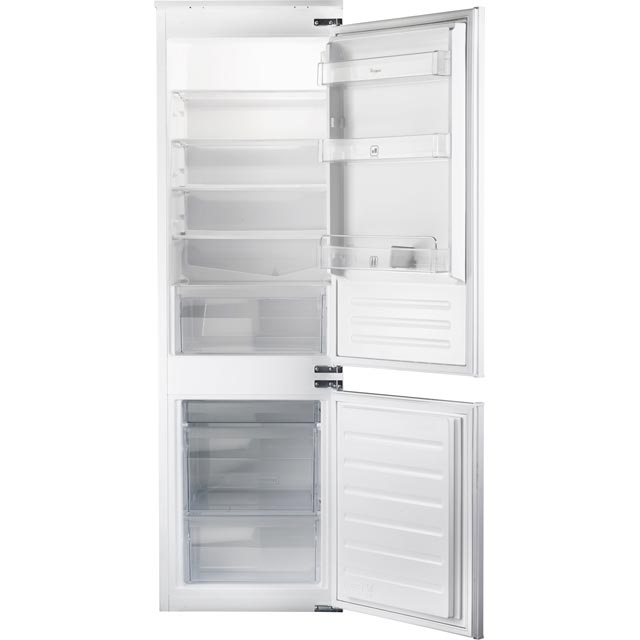 Whirlpool ART6550/A+SF.1 Integrated 70/30 Fridge Freezer with Sliding Door Fixing Kit - White - A+ Rated