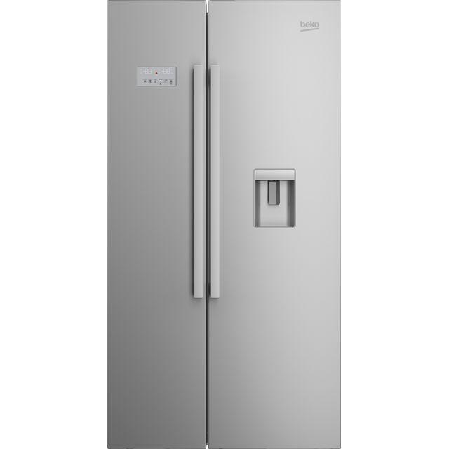 Beko ASD241X American Fridge Freezer - Stainless Steel - A+ Rated